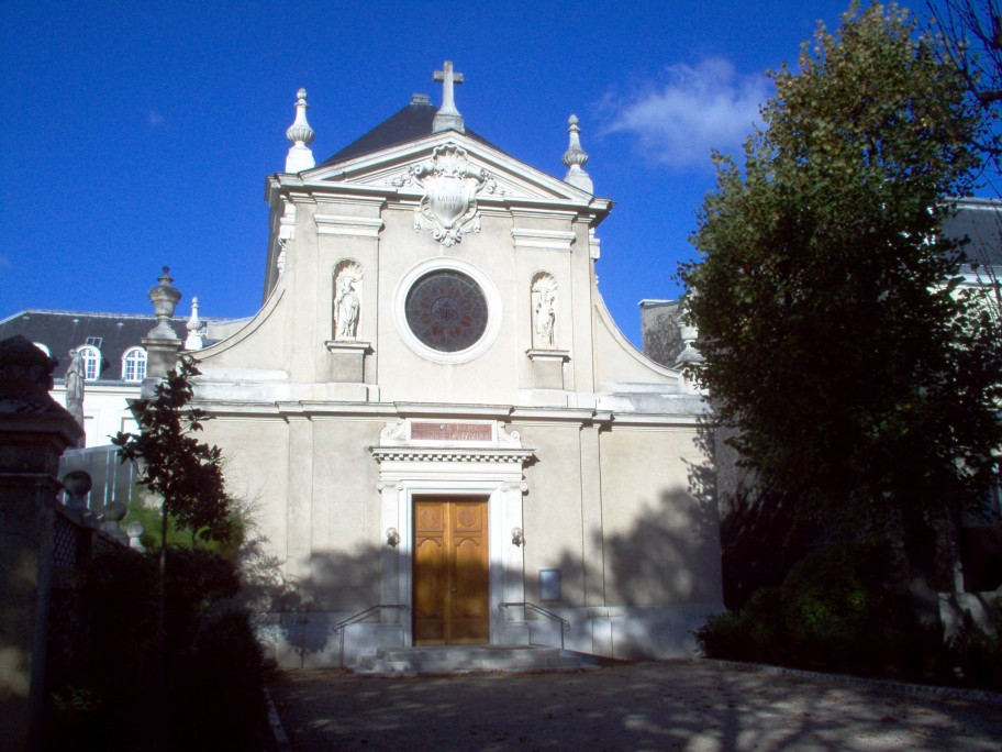 Façade de notre chapelle