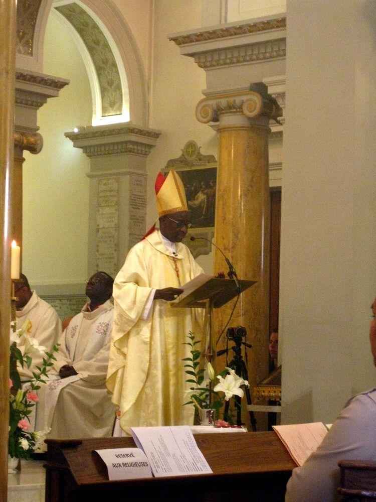 Homélie de Mgr Sarr, cardinal archevêque de Dakar