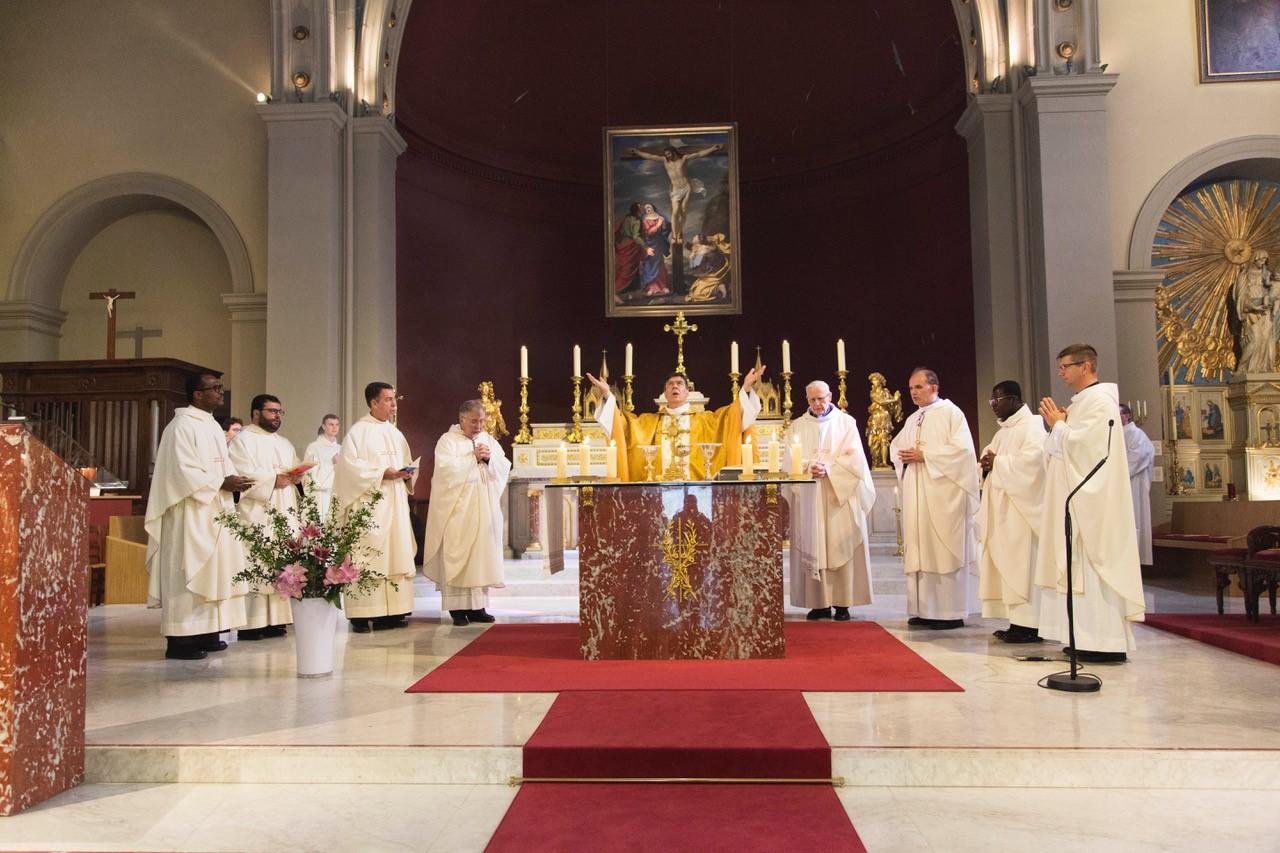 Messe présidée par Monseigneur Aupetit, Évêque de Nanterre