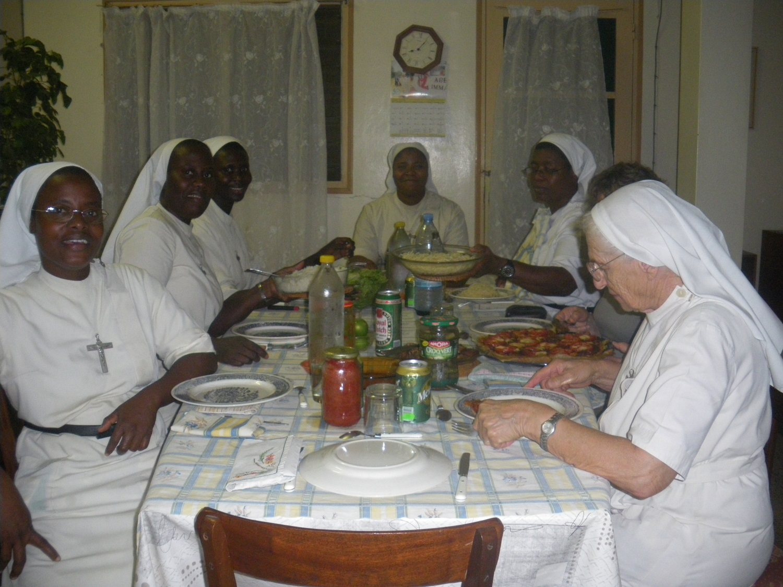 Repas en communauté