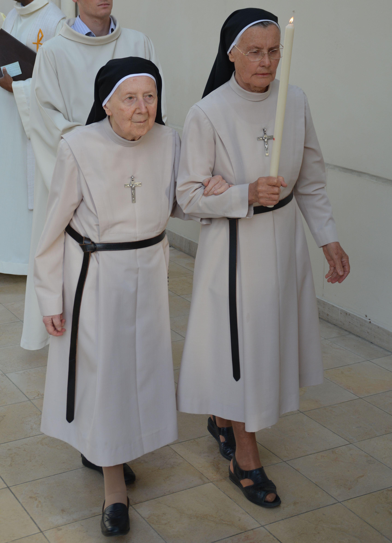 Célébrant les 70 ans de sa profession religieuse (2016)