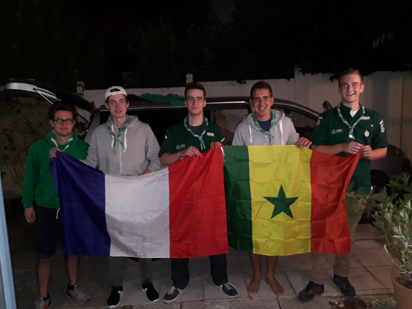 MBODIÈNE - Le groupe de Scouts