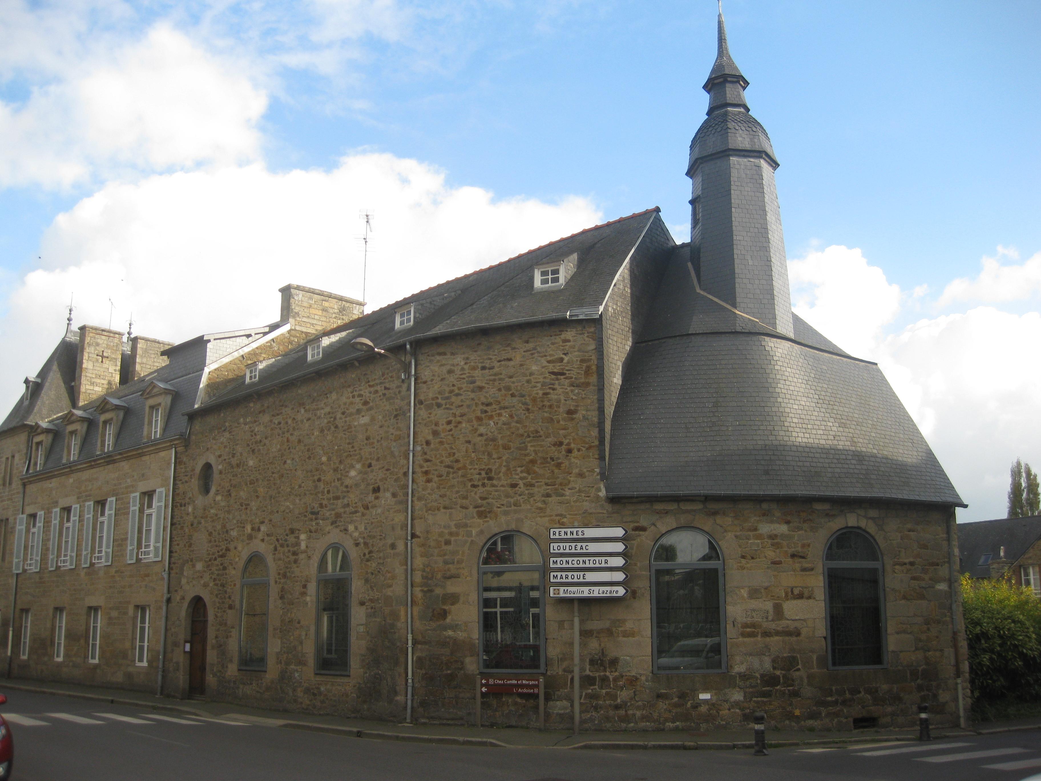 L'ancien Hôtel-Dieu de Lamballe, siège de la communauté