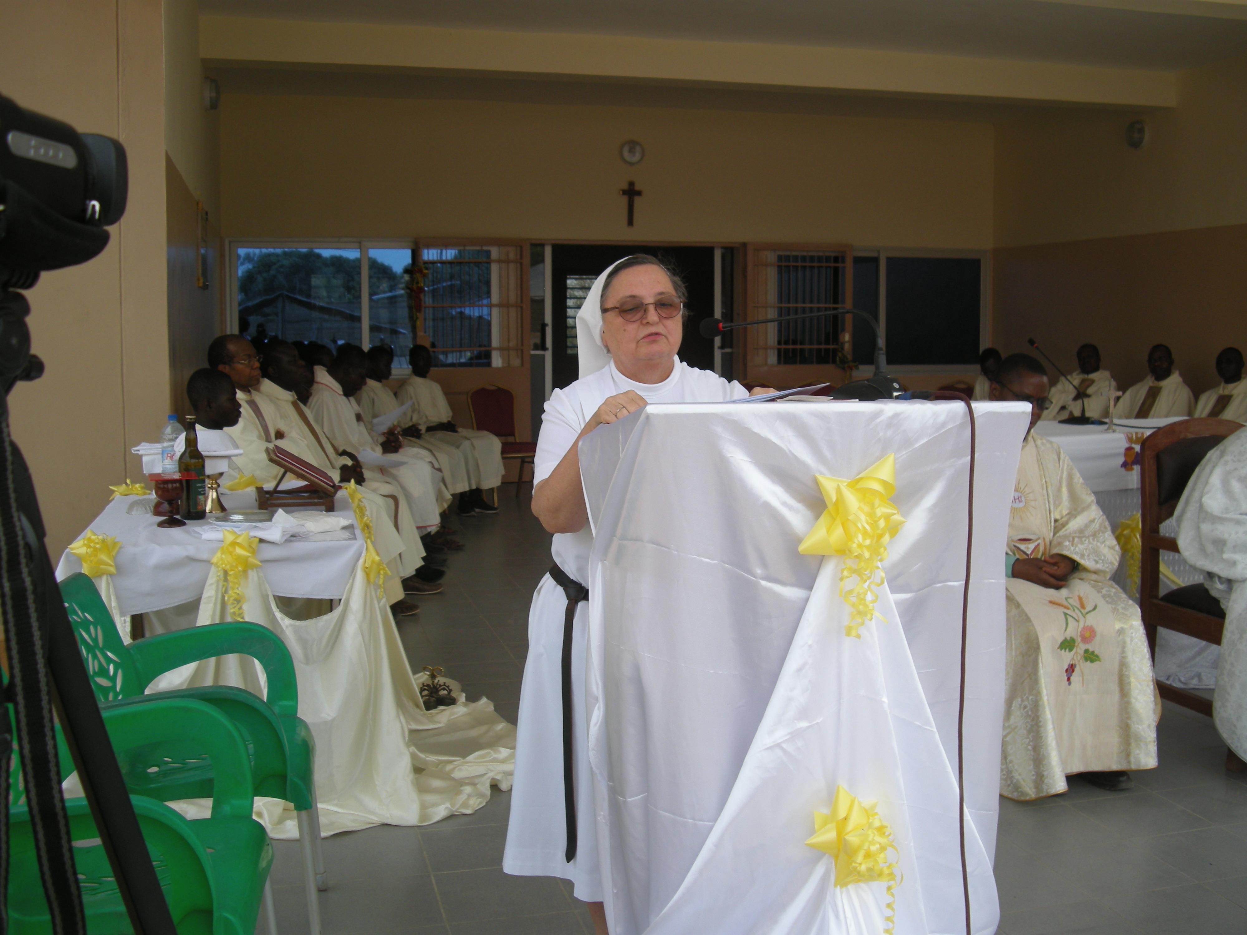 Discours de Mère Marie José