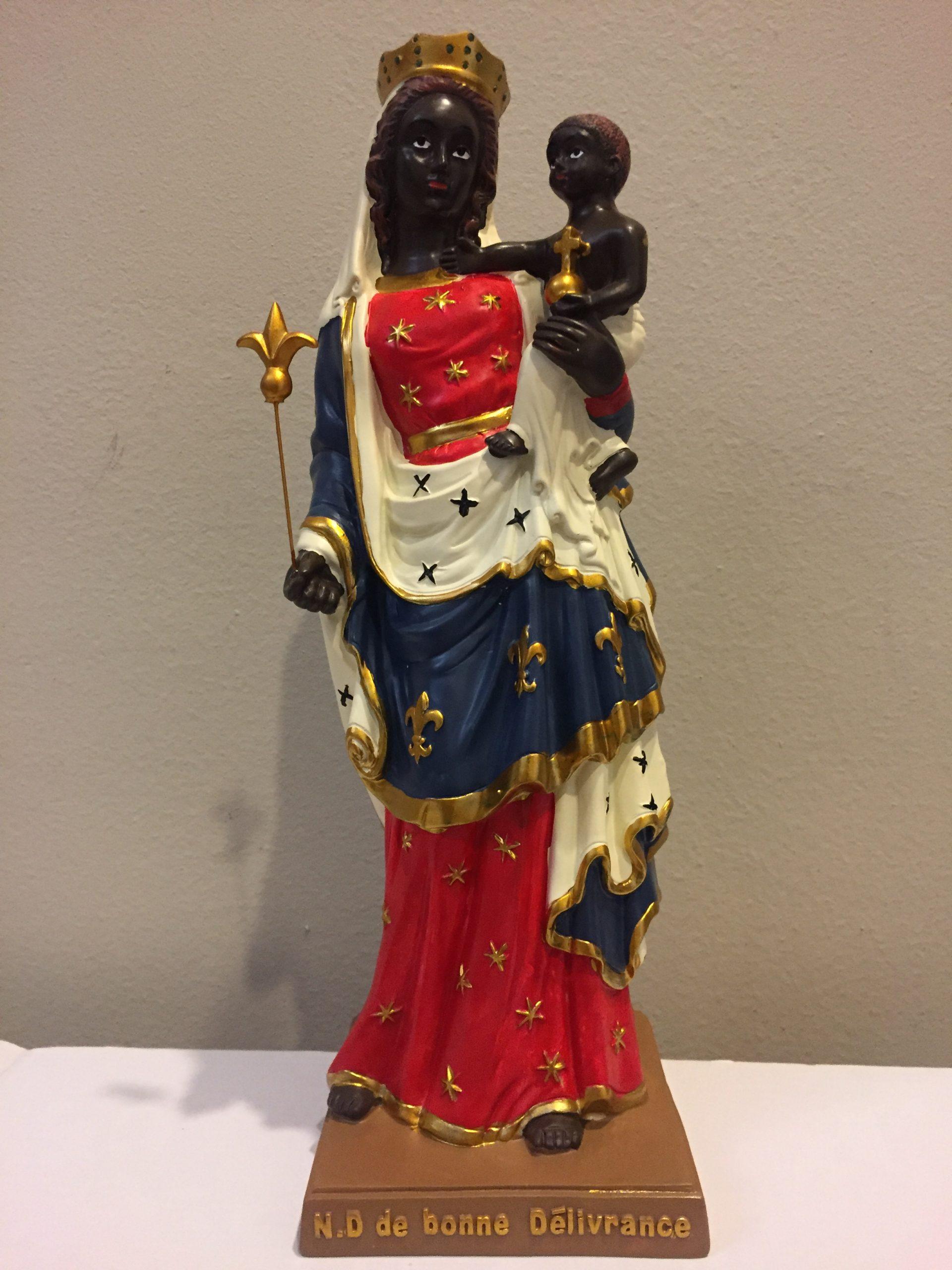Grande statue en résine 30 cm à 32 euros