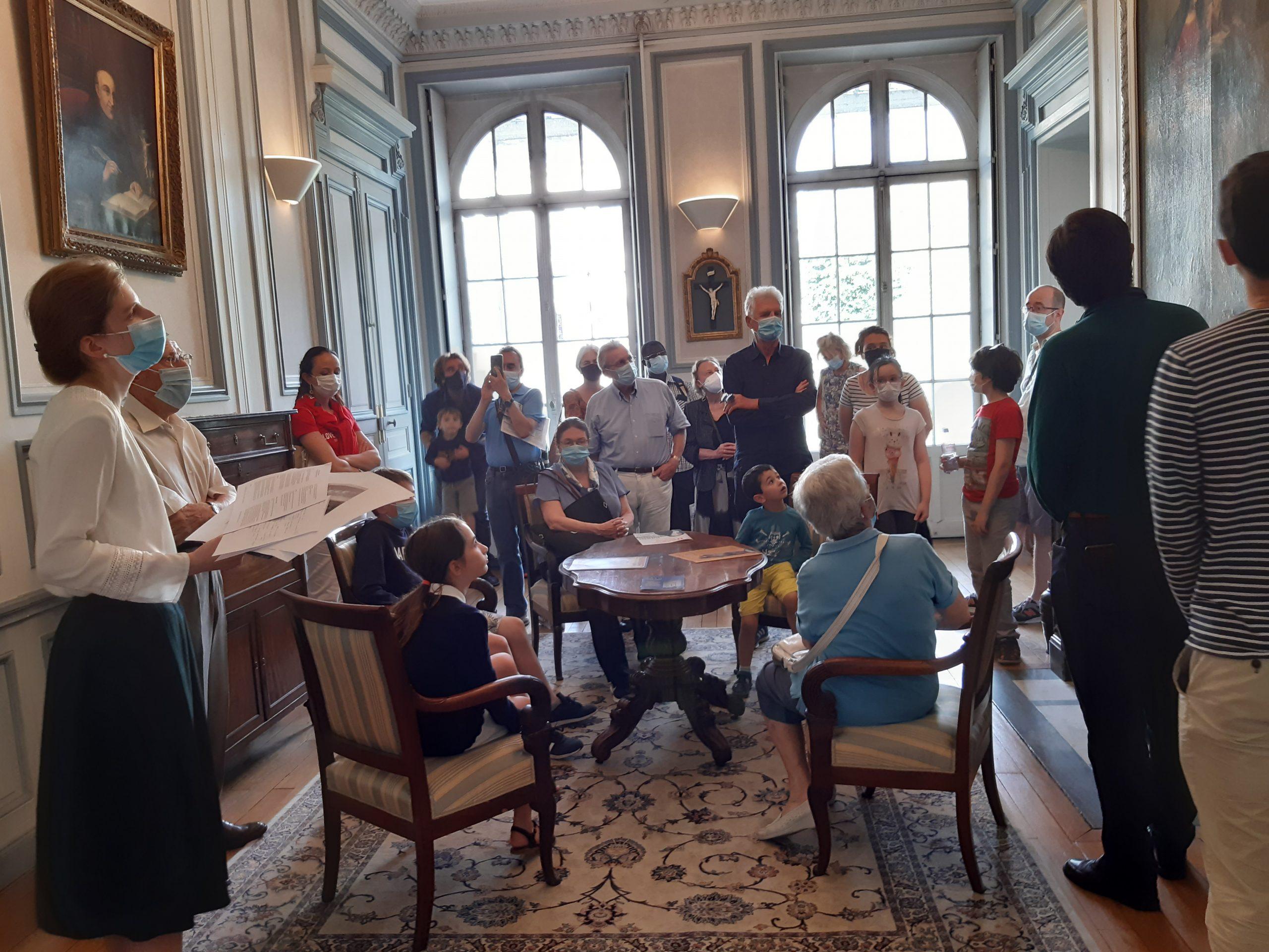 Salon du Pavillon de Madame Adélaïde